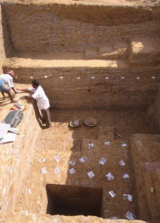 Acheulian stone tools