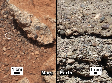 Mars pebbles - Wikimedia Commons
