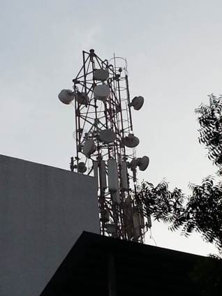 Mobile tower. - Photo R. Prasad-Optimized