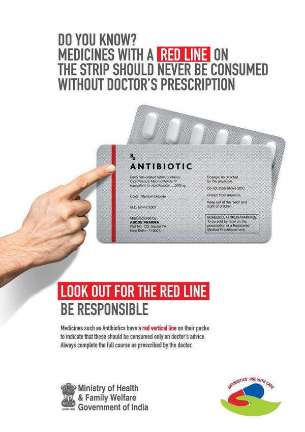 Medicines with the Red Line