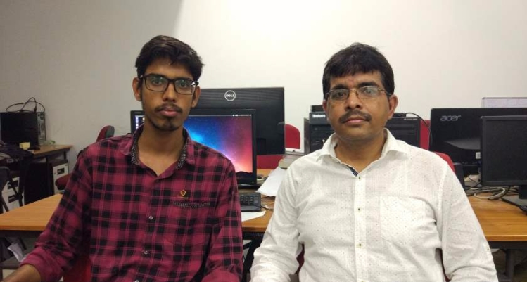 Vimal Mishra (right) and Saran Aadhar-Optimized