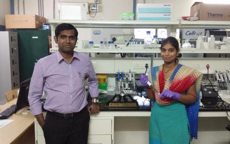 Aravind Rengan (left) and Tejaswini Appidi-Optimized
